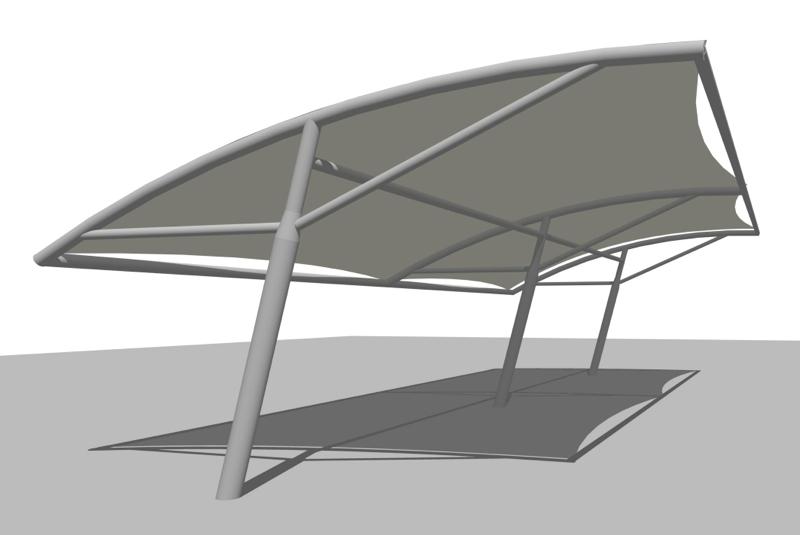 garage voiture toile grand with garage voiture toile. Black Bedroom Furniture Sets. Home Design Ideas
